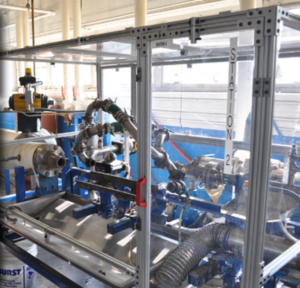 Thermal Flow Bench at Senior Flexonics Testing Facility
